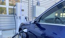 不受廠牌限制 中市設立首座開放型電動汽車快充站