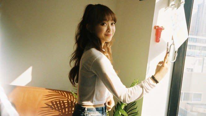 Dita Karang Ungkap Perjuangannya Jadi Artis K-Pop
