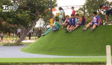 大甲鐵砧山公園改造 變身親子同遊亮點