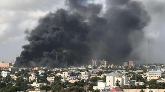 Ledakan Besar Guncang Pangkalan Militer di Yordania