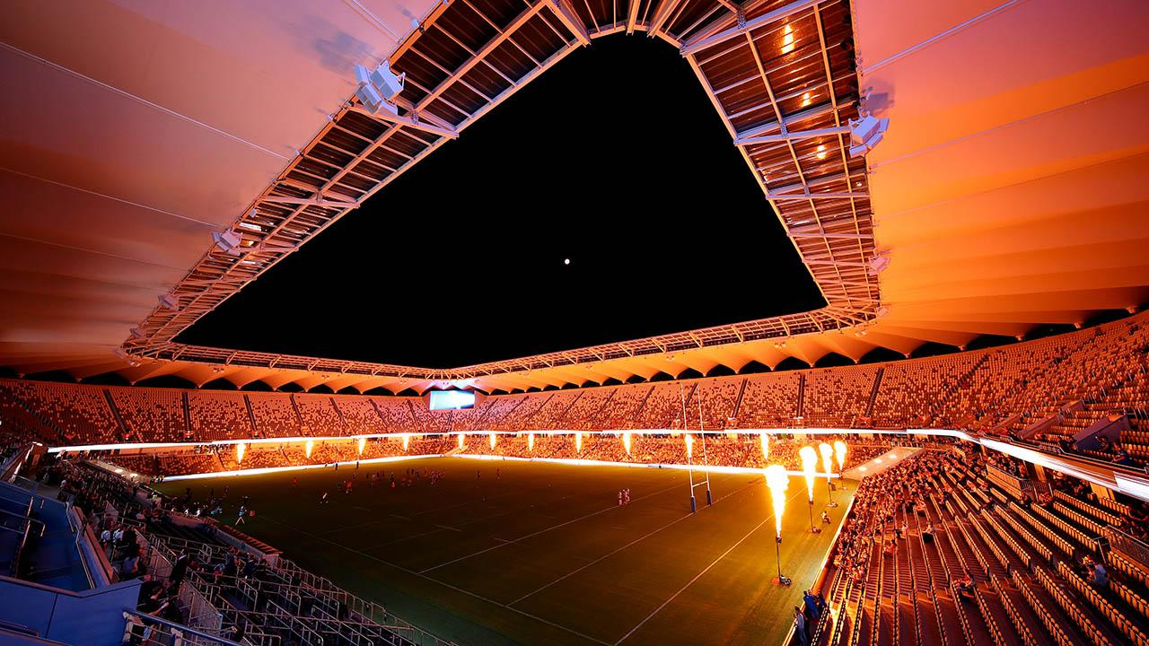 <p>Parramatta have christened the new Bankwest Stadium. </p>
