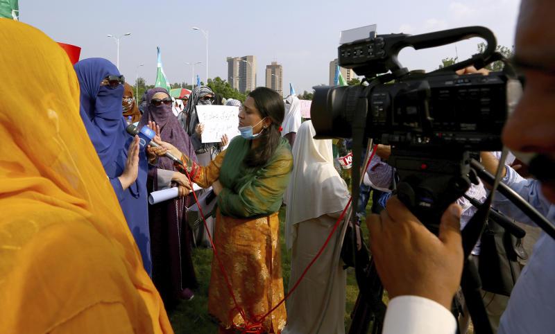 Pakistan Women Journalists Under Attack