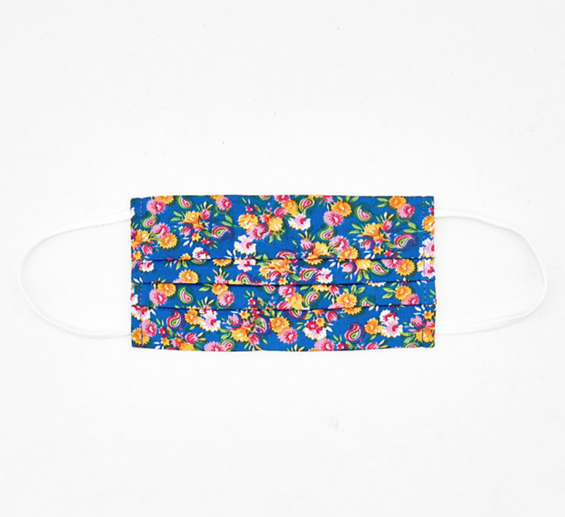 Floral Print Reusable Face Mask. Image via Le Château.