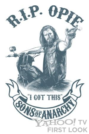 Comic-Con Exclusive: Check Out the Free 'Sons of Anarchy' R.I.P. Opie Tattoo