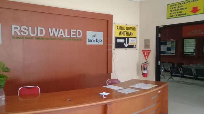 Penampakan ruang pelayanan RSUD Waled Kabupaten Cirebon. Foto (Liputan6.com / Panji Prayitno)