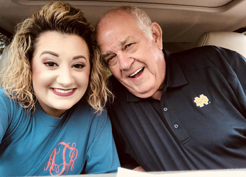 Alexis Tadlock and Charles 55-year age gap relationship