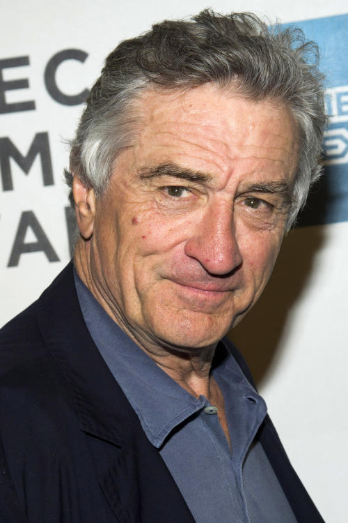 "Robert De Niro attends the premiere of ""Mistaken For Strangers"" during the opening night of the 2013 Tribeca Film Festival on Wednesday April 17, 2013 in New York. (Photo by Charles Sykes/Invision/AP)"