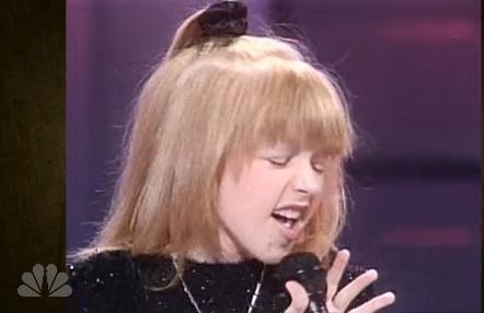Christina Aguilera Had 'The Voice' Even As A Kid!