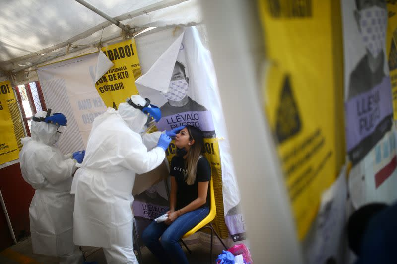 Mexico has world's most health worker deaths from pandemic - Amnesty Int'l