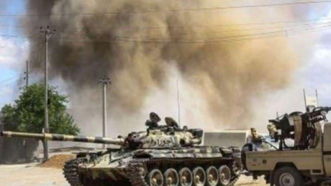 Perang Besar Pecah di Bandara Tripoli Libya