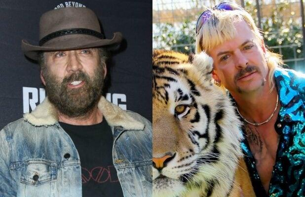'Tiger King' Scripted Series Starring Nicolas Cage as Joe Exotic in the Works at Amazon
