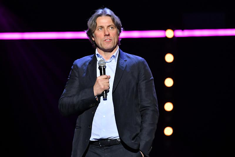 John Bishop performing during the Teenage Cancer Trust comedy night, at the Royal Albert Hall, London. Picture date: Wednesday March 27, 2019. Photo credit should read: Matt Crossick/Empics