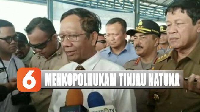 Menkopolhukam dan Menteri KKP Tinjau Keamanan Laut Natuna