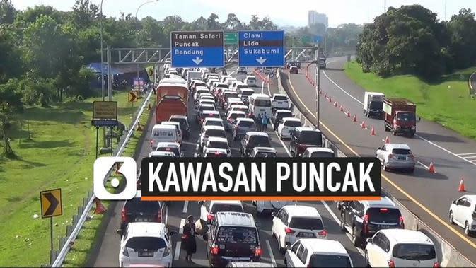 VIDEO: Jelang PSBB , Warga Jakarta Penuhi Kawasan Puncak
