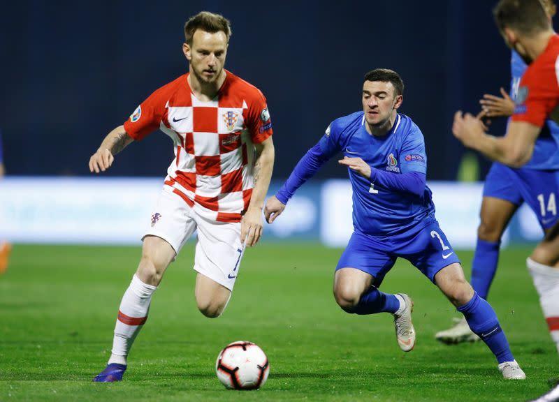 Croatia's Rakitic ends international career