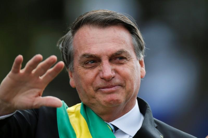 Bolsonaro says Brazil is prepared in case of protests, but not worried