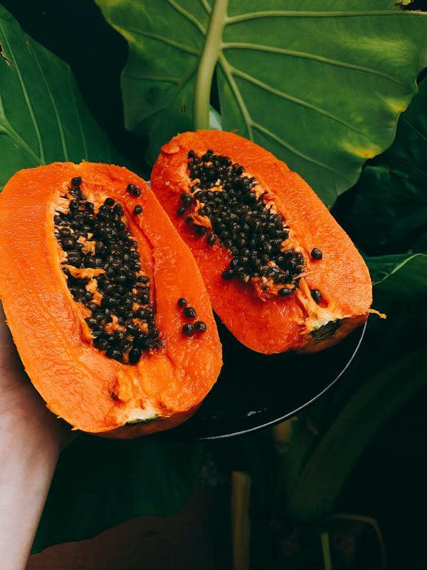 ilustrasi buah pepaya/unsplash