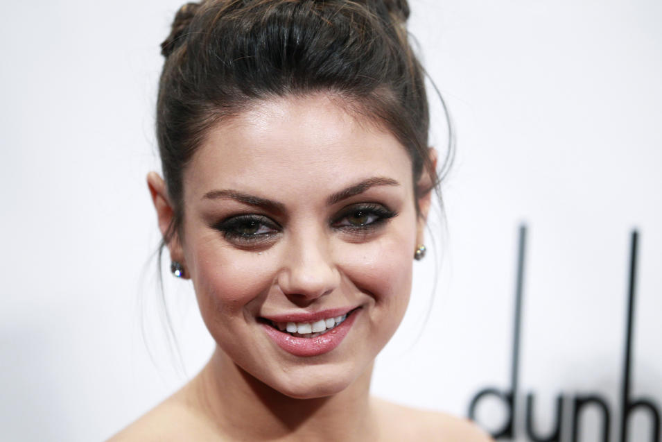 Actress Mila Kunis arrives at the 20th anniversary Gotham Independent Film Awards in New York