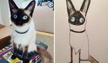 英國父親因搞笑寵物「垃圾」作品成網紅 為無家可歸者募捐