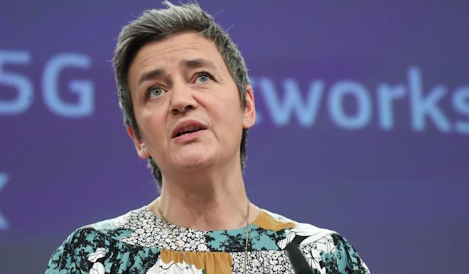 """Margrethe Vestager, the European Commission's competition commissioner, said member nations could but stakes in companies """"if they want to prevent a takeover"""". Photo: AFP"""