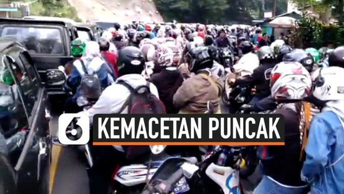 VIDEO: Video Viral Kemacetan Puncak, Begini Penjelasan Polisi