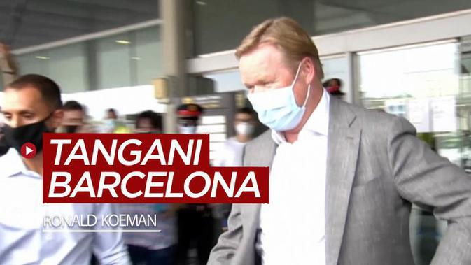 VIDEO: Ronald Koeman Resmi Tangani Barcelona