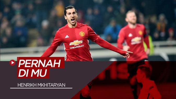 MOTION GRAFIS: 4 Pemain Bundesliga yang Pernah Bermain di Manchester United, Salah Satunya Henrikh Mkhitaryan