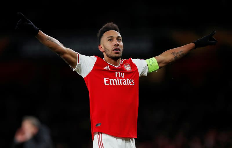 Aubameyang considering own esports team after virtual F1 debut
