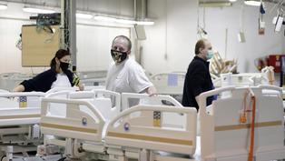 Czech hospital bed maker rushes to meet government order