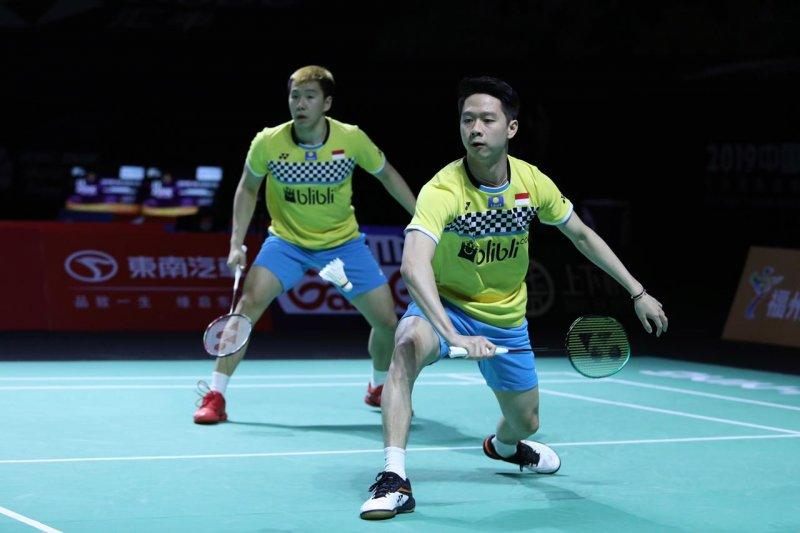 Tembus final Fuzhou China Open, Minions ingin pertahankan gelar juara