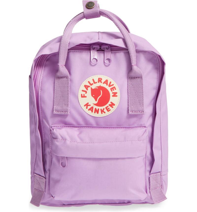 Fjällräven 'Mini Kånken' Water Resistant Backpack. Image via Nordstrom.