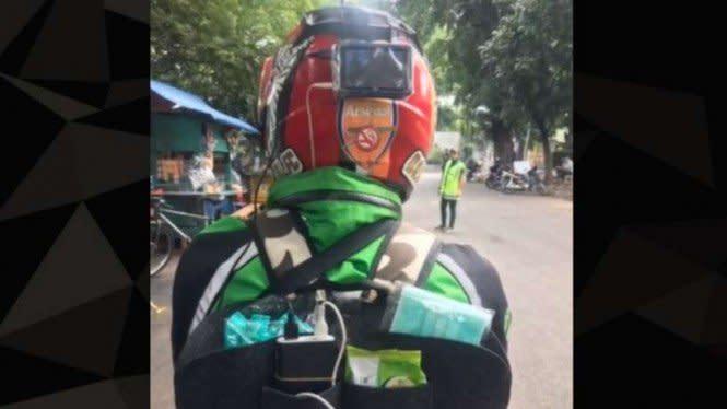 Keren, Viral Ojek Online Fasilitas Bintang Lima Keliling Jakarta