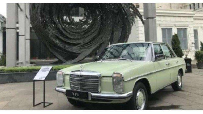 Ternyata, Mercedes-Benz Bikin Mobil Mewah di RI Sejak 50 Tahun Lalu