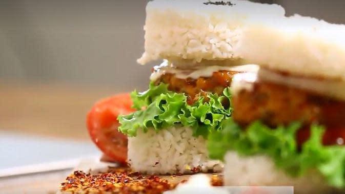 Resep Burger Nasi Ayam, Hidangan Lain untuk Berbuka Puasa