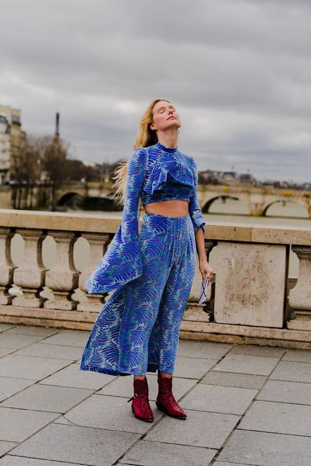 <p>A Chloe dress to swoon for.</p>