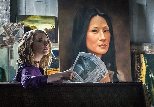 Exclusive Elementary Video: Joan Witnesses Sherlock and Mycroft's Tense Reunion