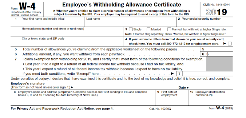 form w 4 line 5  This Tax Form Can Give You a Bigger Refund