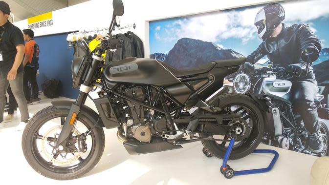 Husqvarna Svartpilen 701 Resmi Meluncur di IIMS Motobike 2019