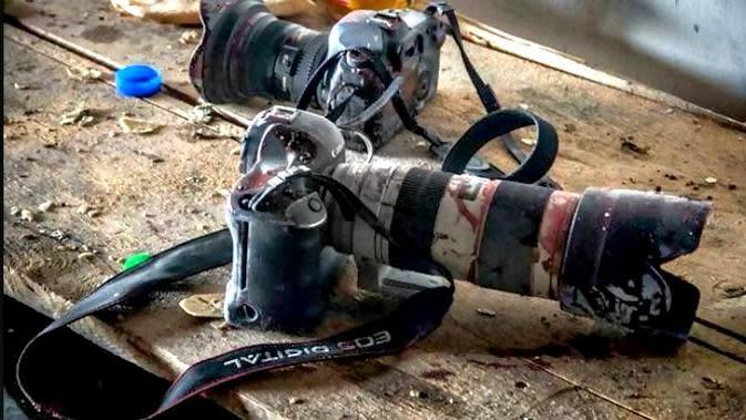 Ilustrasi Jurnalis Perang