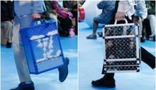 好想買LV雲朵行李箱 躺在帳篷裡看路易威登的專屬藍天