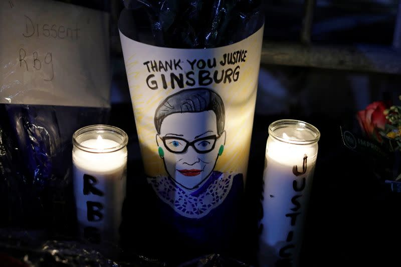 Justice Ginsburg to be honoured at U.S. Supreme Court, Capitol