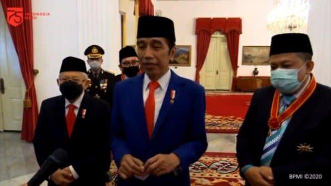 Saat Jokowi Bela Fahri Hamzah dan Fadli Zon