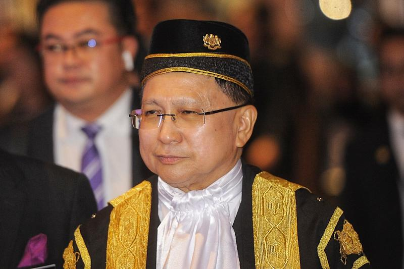 Tan Sri Richard Malanjum says Malaysia's courts will soon see judges using artificial intelligence when deciding on punishments for convicted criminals. — Picture by Shafwan Zaidon
