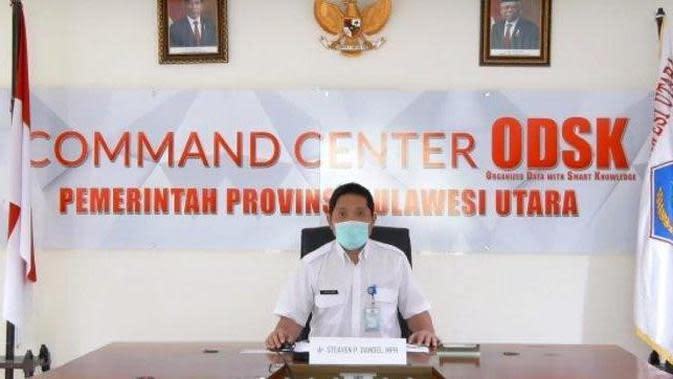 Kabar Baik dari Sulut, Angka Kesembuhan Pasien Covid-19 Capai 82,44 Persen