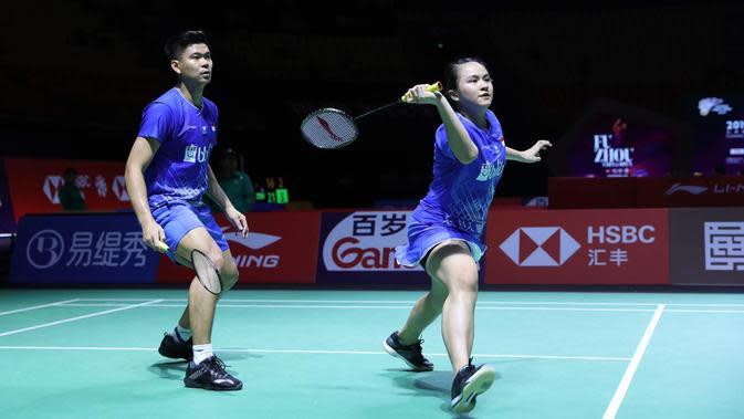 Praveen / Melati Rebut Tiket Perempat Final Indonesia Masters 2020