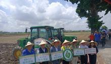 國產大豆智慧農業導入田間觀摩 見證青農改變傳統農業樣貌