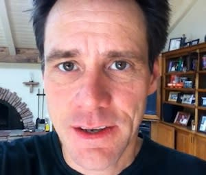 Jim Carrey Records Creepy Video Love Letter to Emma Stone