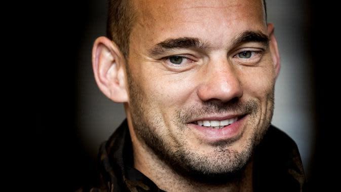 Wesley Sneijder. (AFP/Koen van Weel)