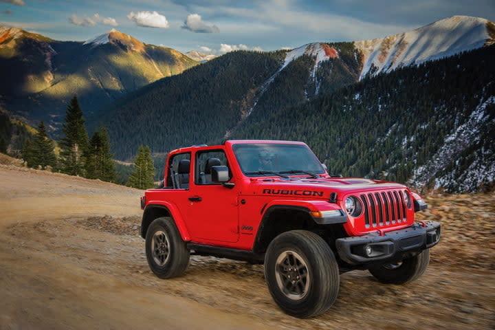 best off-road vehicles 2019 Jeep Wrangler