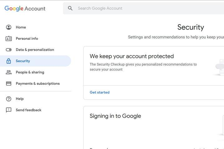 Gmail Update screenshot